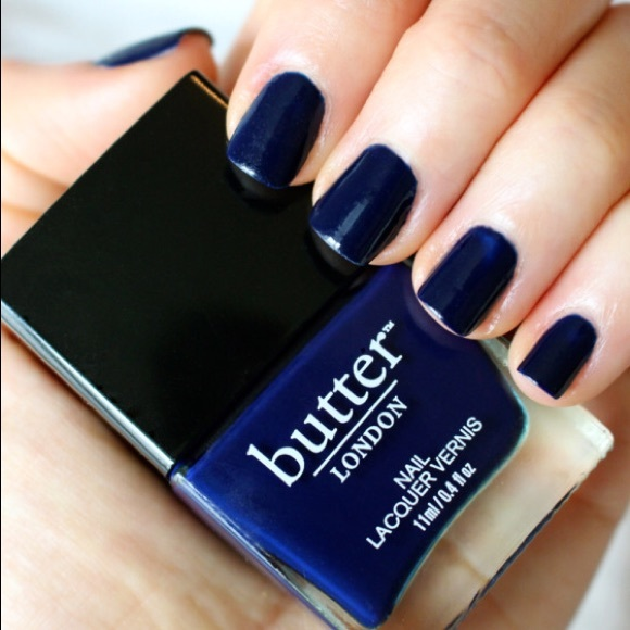 Makeup | Butter London Royal Navy Nail Polish Nwot | Poshmark